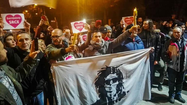 RTRS: Protesti rušitelja Republike Srpske i povrijeđeni policajac