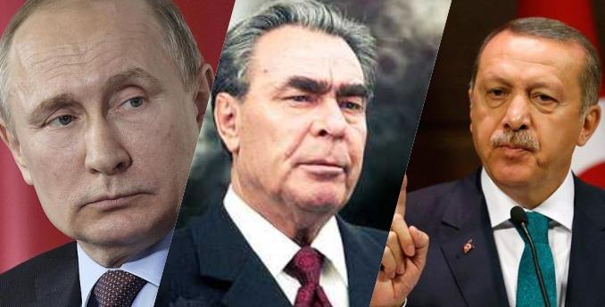 EVO KO NAM VODI DRŽAVU I NARODE: Vladimir Putin, Recep Tayyip Erdoğan i Leonid Brežnjev