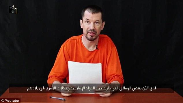 Velika Britanija: Vjeruje se da je reporter John Cantlie, ISIS-ov zarobljenik, još uvijek živ