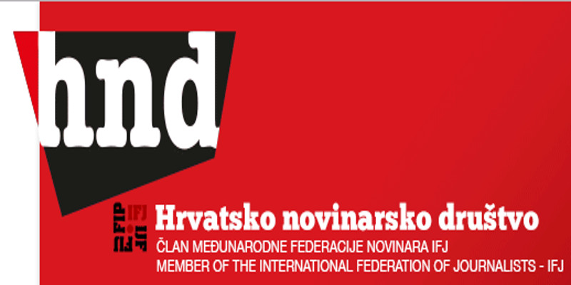 Hrvatsko novinarsko društvo u subotu organizuje protest za slobodu novinarstva