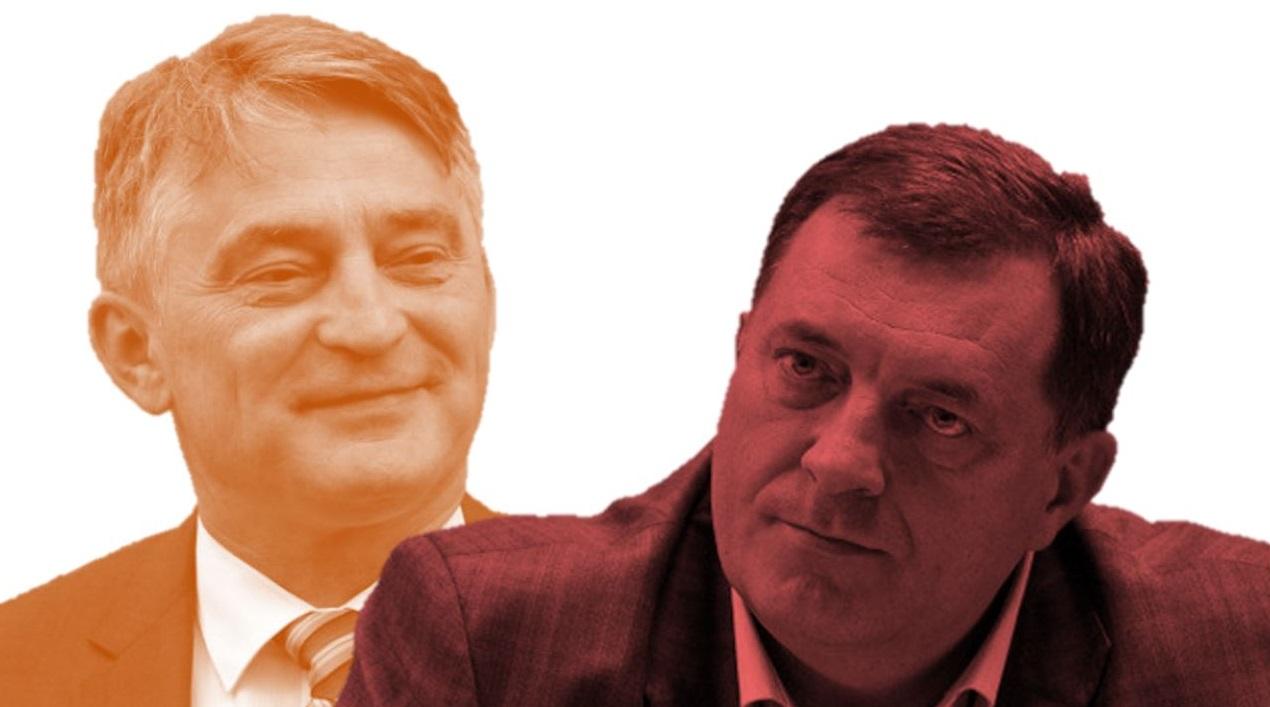 (V)LAŽNE VIJESTI: Željko Komšić podmetnuo pogrešan govor Miloradu Dodiku na otvaranju EYOF-a