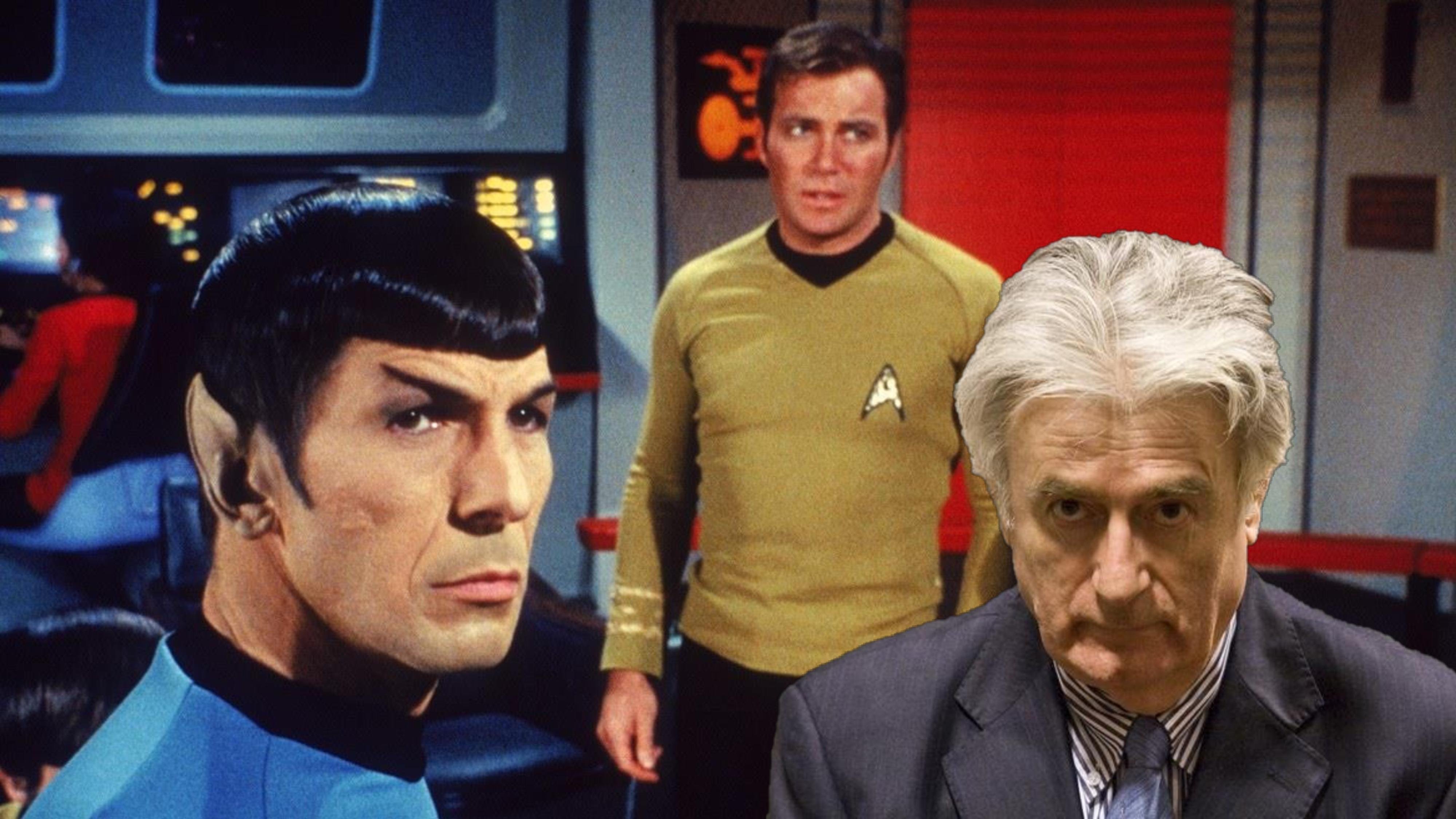 Šta bi bilo da se Karadžić pojavio kao lik u Star Treku?