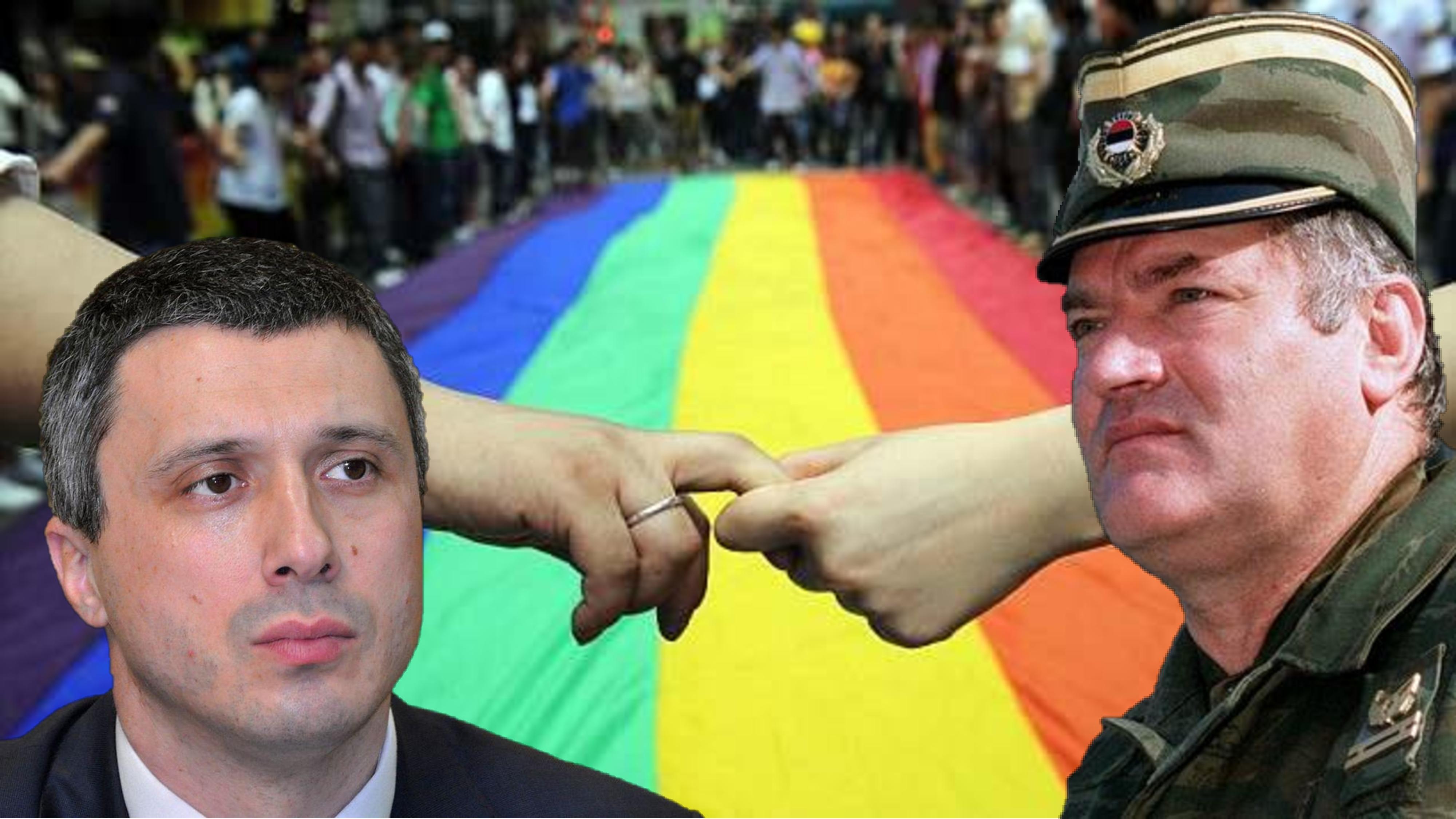 POVORKA PONOSA: Za Boška i Ratka, protiv LGBT-ja!