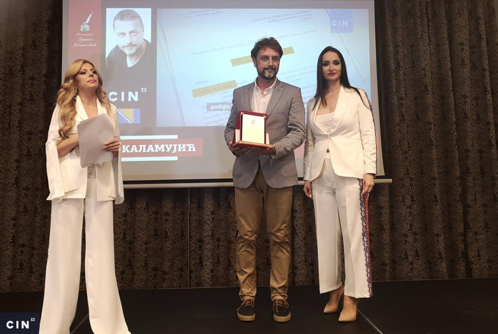 Novinar CIN-a Azhar Kalamujić dobitnik međunarodne nagrade