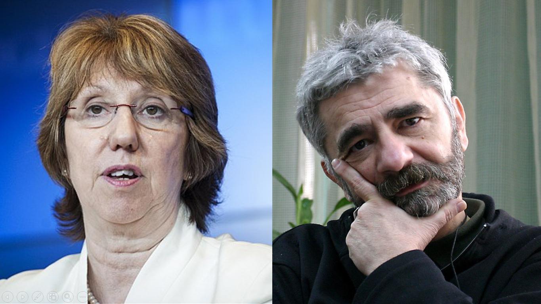 Catherine Ashton: Trebaju vam hrabri političari! Nermin Tulić: Trebaju nam hrabri narodi koji će otjerati ove političare!