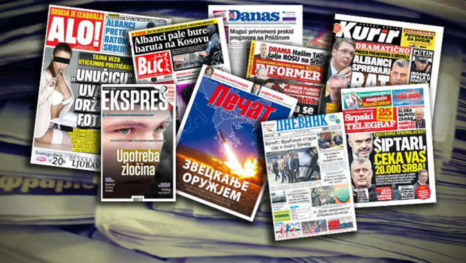 U jednoj sedmici pet incidenata protiv novinara u Srbiji
