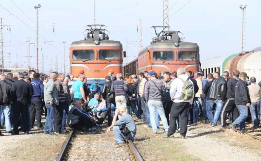 BNTV I RTRS: Zašto štrajkuju željezničari u RS-u?