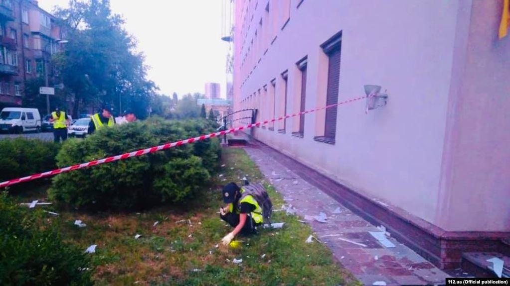 Ispaljena raketa na zgradu televizije u Kijevu