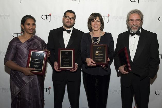 Dobitnici nagrada CPJ predstavljaju najbolje od novinarstva