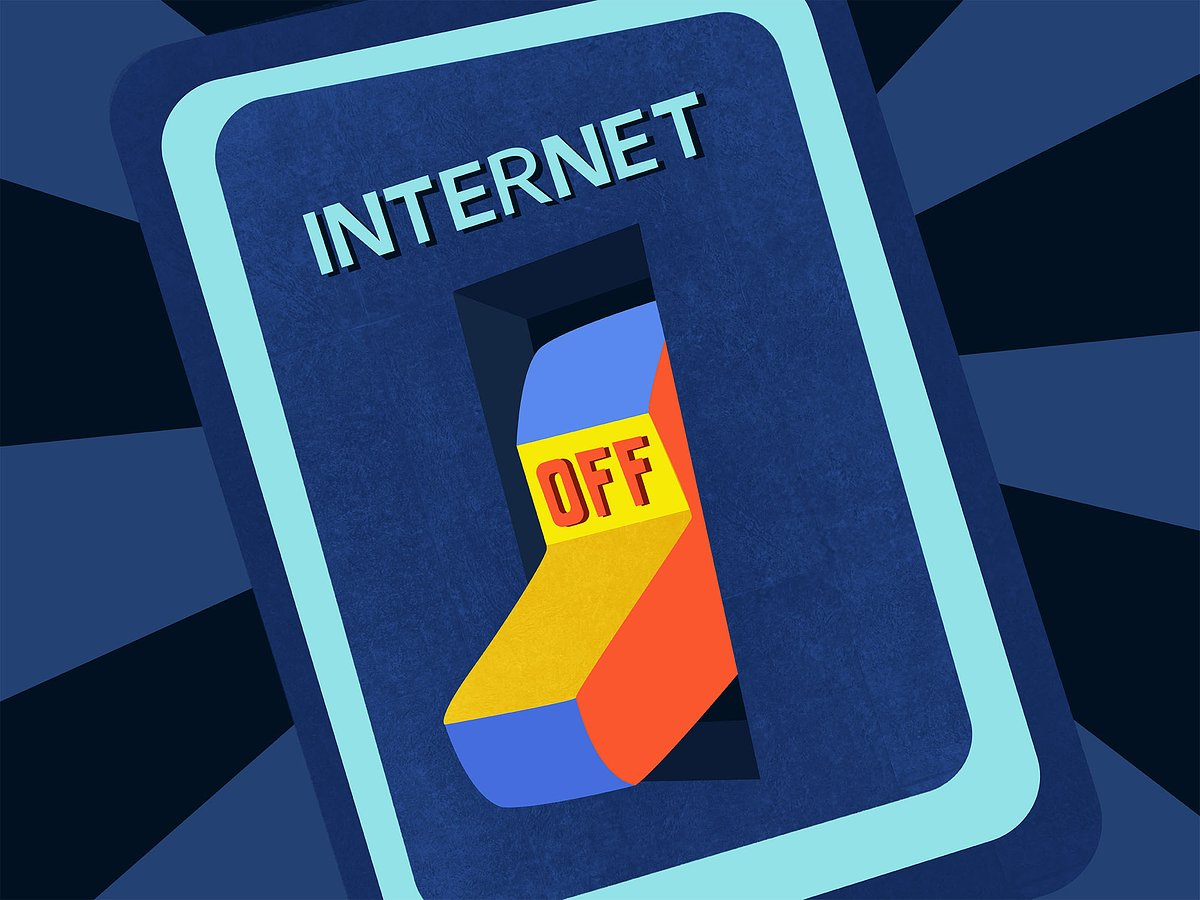 Brojne posljedice isključenja interneta