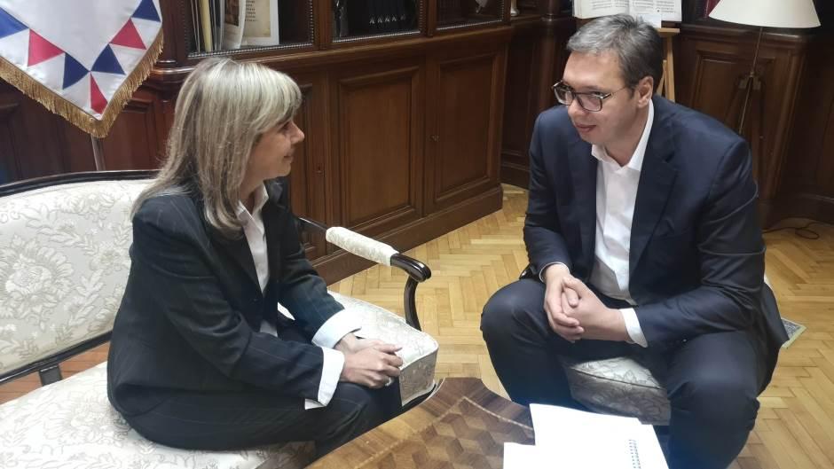 Nakon sastanka s Vučićem, Pavlović prekinula štrajk glađu