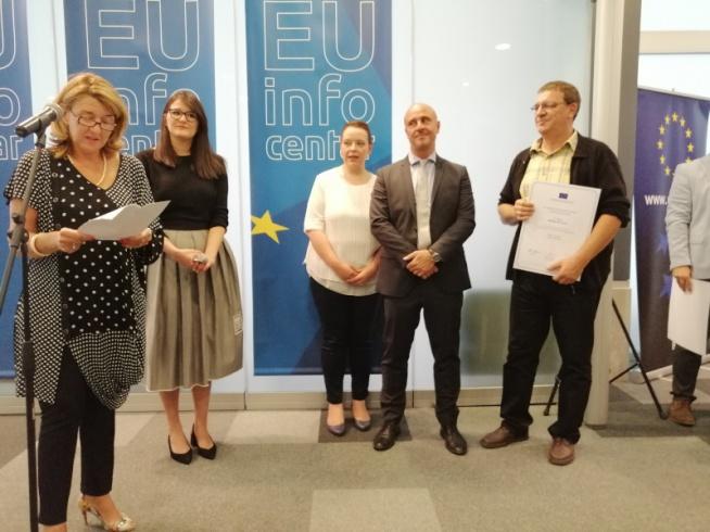 Novinar Amarildo Gutić dobitnik prve nagrade EU za najbolje istraživačke priče