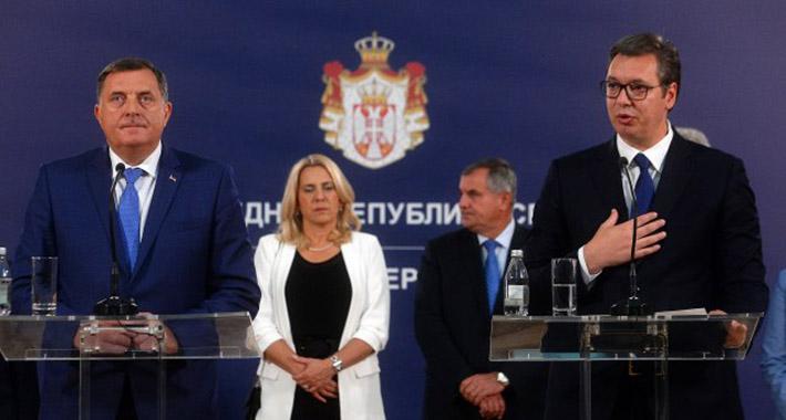 DRAMA U BEOGRADU: Dodik otišao po oružje, Vučić mu prodao priču o miru i stabilnosti!