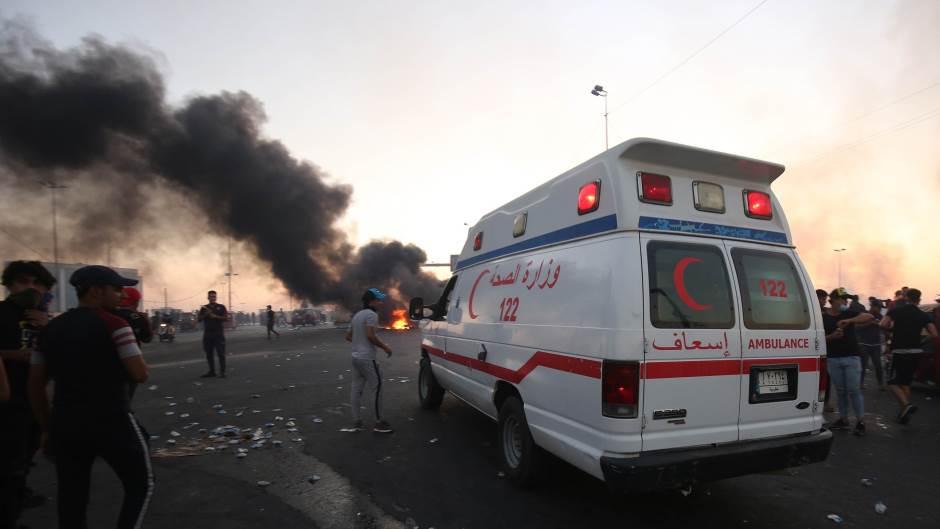 Naoružani napadači upali u redakcije televizija u Bagdadu
