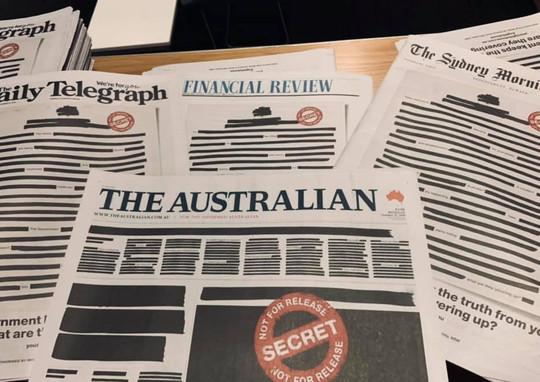 Zajednička kampanja australskih medija ujedinjenih za slobodu štampe