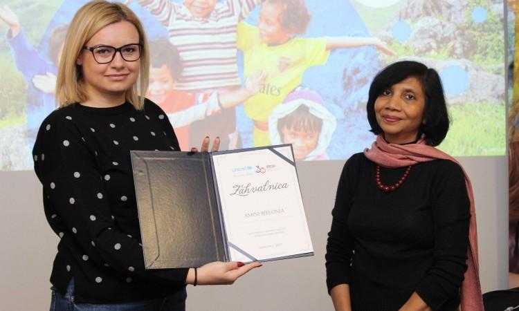 UNICEF u BiH dodijelio medijska priznanja za doprinos promociji prava djeteta