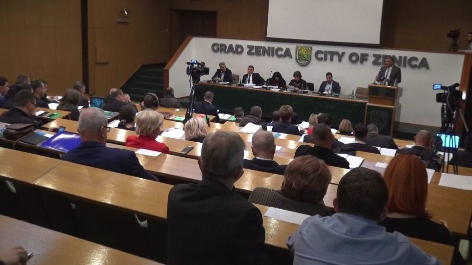 Pojedinim medijima onemogućeno praćenje sjednice Gradskog vijeća Zenica