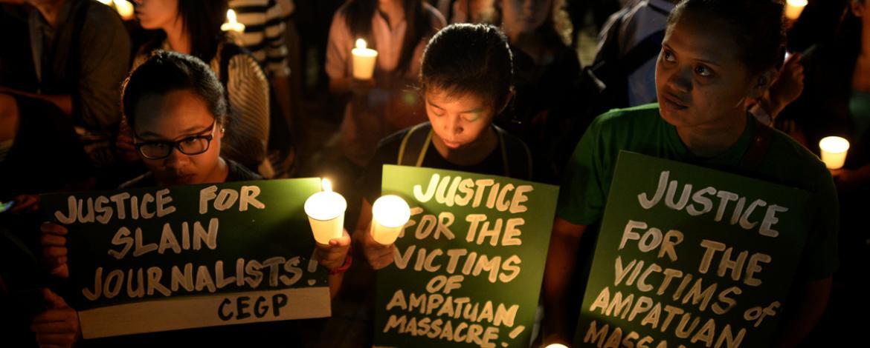 Deseta godišnjica od masovnog ubistva novinara na Filipnima