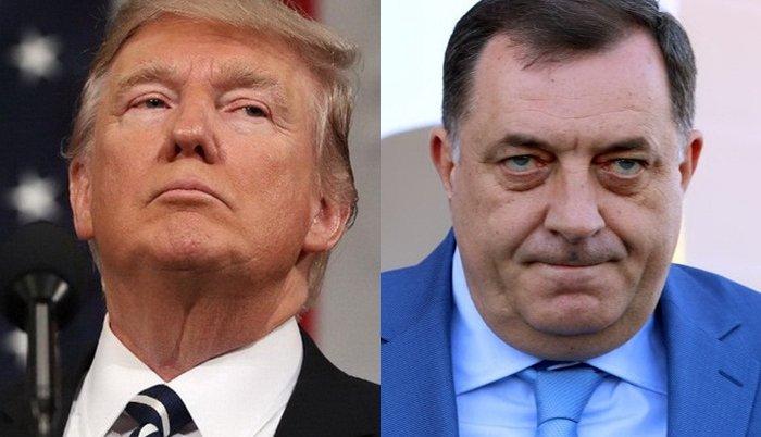 RTRS: Vijest o Trumpovom opozivu počela saopštenjem da ga je Dodik podržao