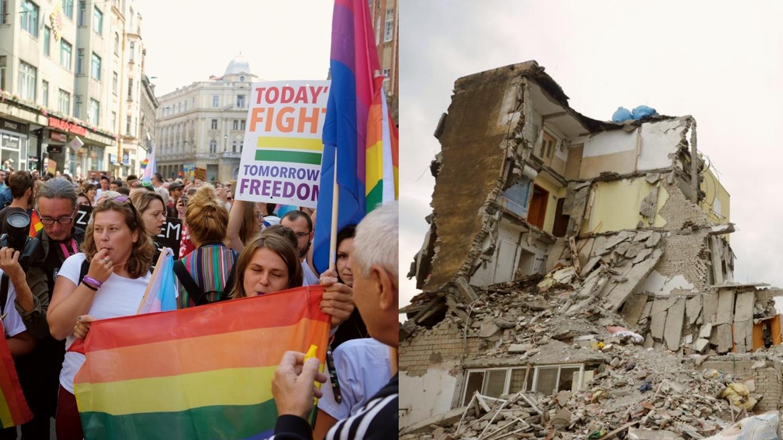 ZEMLJOTRES U ALBANIJI: Pomjeranje tektonskih ploča ili Božija kazna zbog Povorke ponosa?