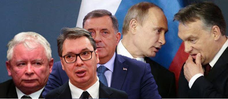 DIKTATORI IZ SUSJEDSTVA: Putin, Kaczynski, Orban, Vučić i Dodik