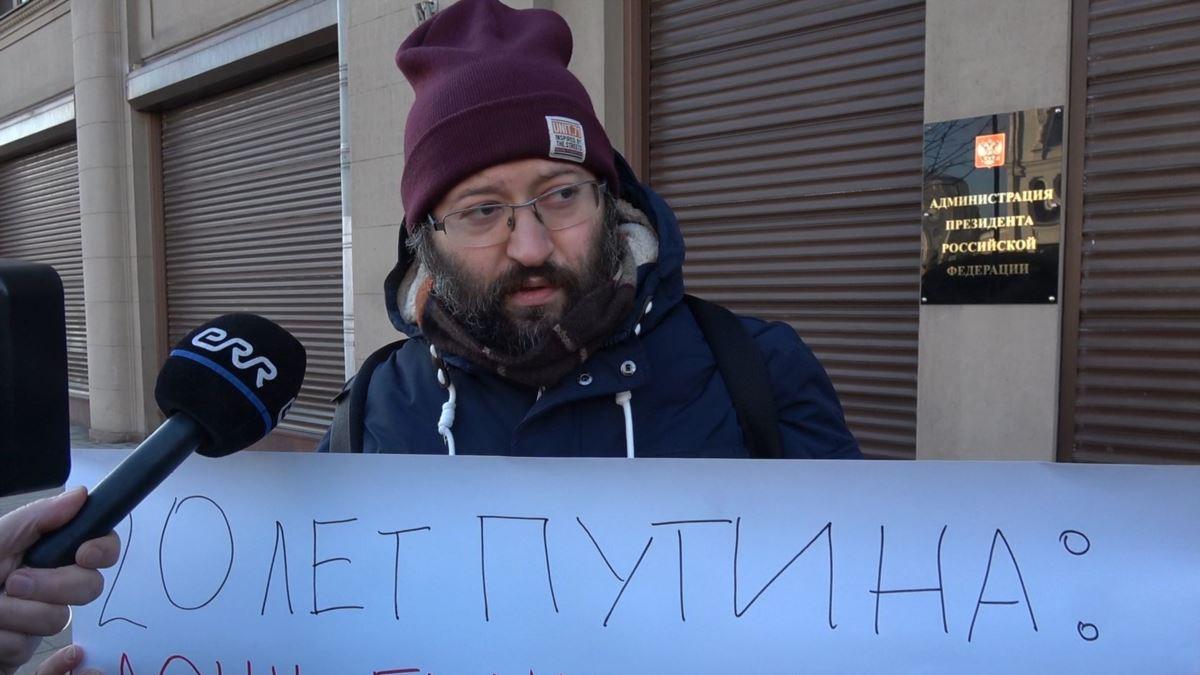 Ruski novinar dobio 15 dana zatvora zbog kršenja zakona o protestima