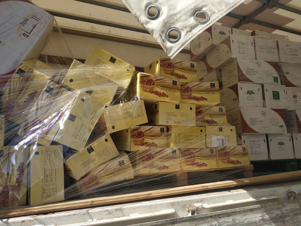 Umjesto sanitetskog materijala, u Bugarsku iz Emirata dopremljeno 12 tona datula