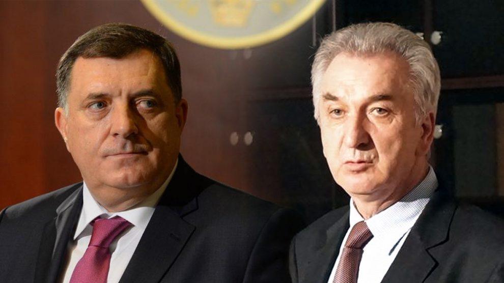 MIRKO ŠAROVIĆ: Ovo je najgore Vijeće ministara do sada! MILORAD DODIK: Šarović je izdajnik, a Borenović neznalica!