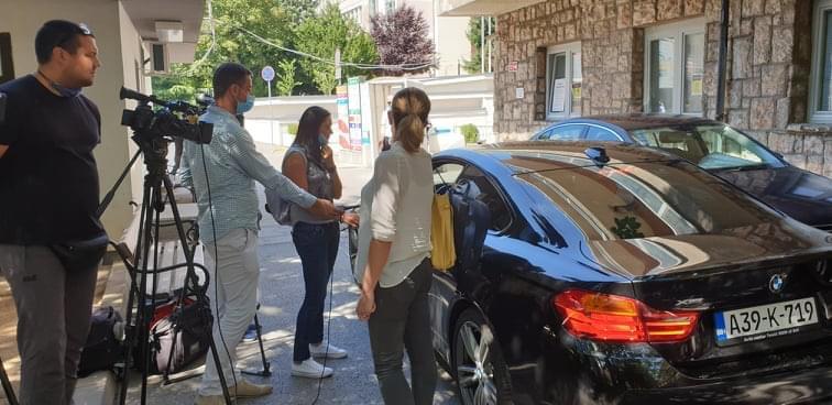 Kantonalni ministar obratio se medijima iz BMW-a
