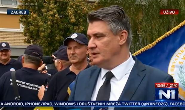SAMO JE JEDNA SAMODOPADNA NARIKAČA: Zoran Milanović, predsjednik Hrvatske