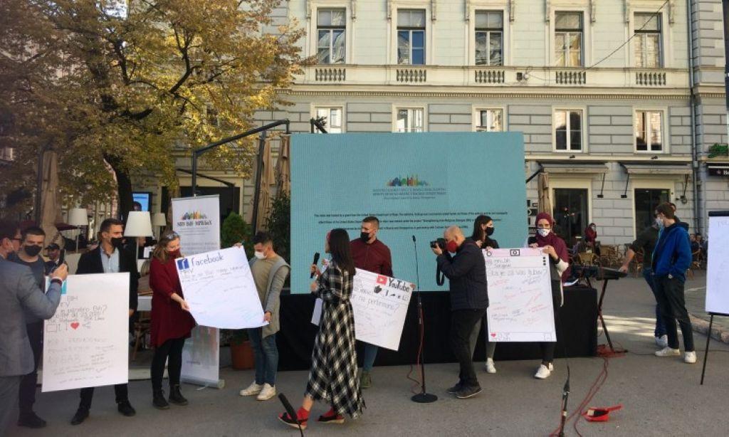 Performansom u Sarajevu osuđen govor mržnje u javnom prostoru