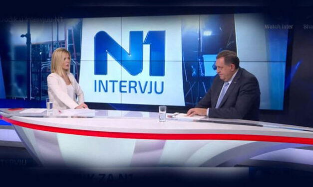 HARD TALK U BOSANSKOM IZDANJU: Emela Burdžović Slipičević protiv Milorada Dodika