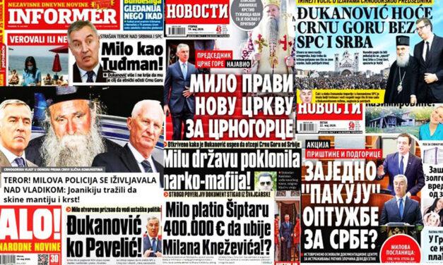 SRBIJA I CRNA GORA: Kako iskoristiti pandemiju za političke obračune