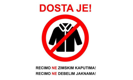 SATIRA S MREŽA: Nećete nas više trovati kaputima, jaknama i čizmama