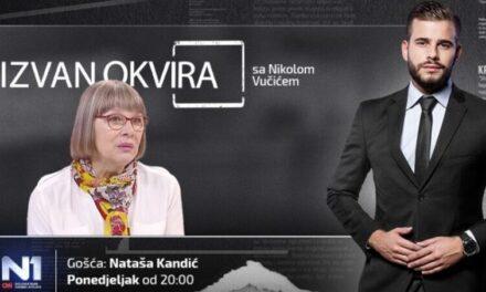 Kompetentan intervju Nikole Vučića s Natašom Kandić