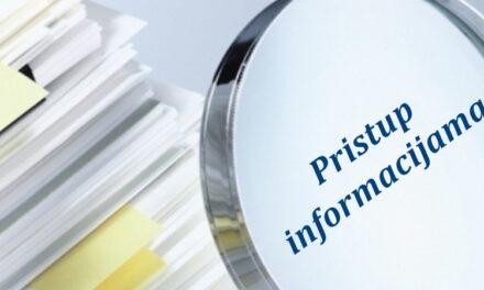 Organizacije civilnog društva traže veću slobodu pristupa informacijama