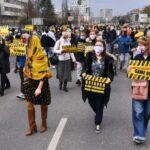 PROTESTI U SARAJEVU: Maline, vakcine i teški konflikti