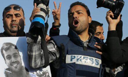Palestinski izvjestitelji povrijeđeni u Jeruzalemu, a 21 medij uništen u Gazi