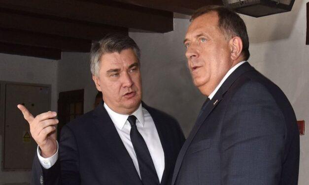Milanović se bori za Republiku Srpsku isto kao Dodik za Herceg-Bosnu!